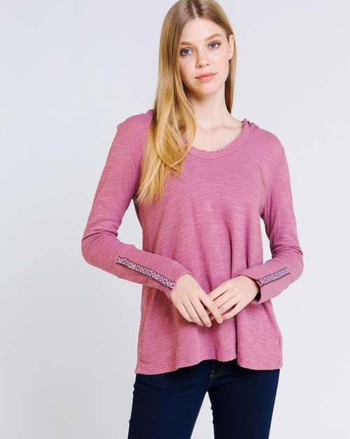 CRINKLE KNIT with Detailed SLEEVE - orangeshine.com