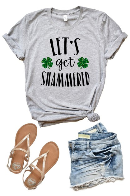 Lets Get Shammered - St Patricks Day - orangeshine.com
