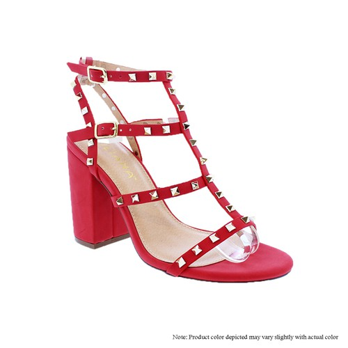 Cut Out Cage Gladiator Sandals - orangeshine.com