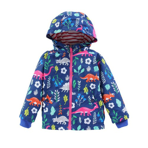 Dinosaur Print Light Jacket - orangeshine.com