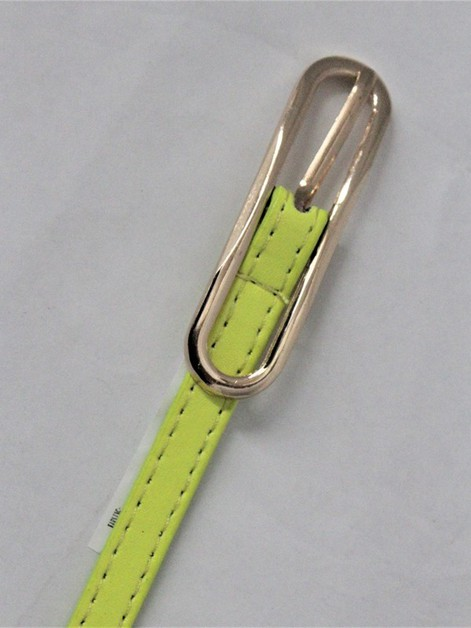 Neon Color Skinny Long Belt - orangeshine.com
