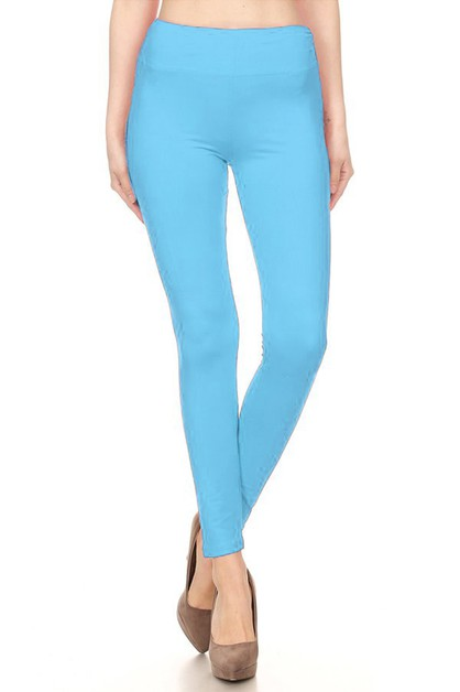 SOFT FULL LENGTH LEGGINGS WITH WIDE - orangeshine.com