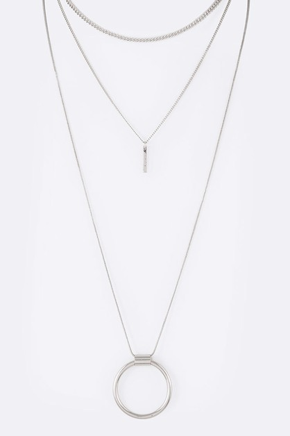 4 In 1 Mix Laye Necklace Set - orangeshine.com