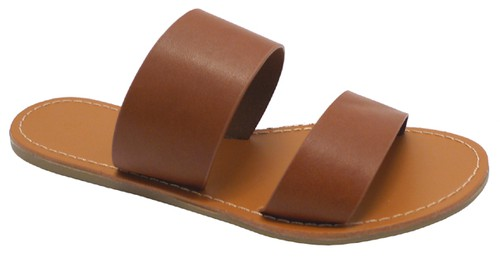 Women Flat Two Belts Sandals - orangeshine.com