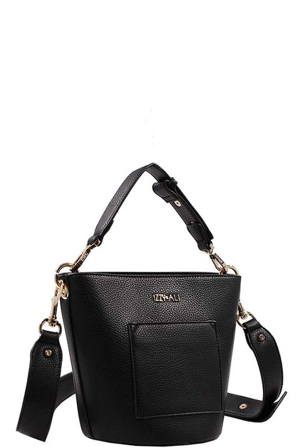 Fashion Modern Chic Bucket Bag - orangeshine.com