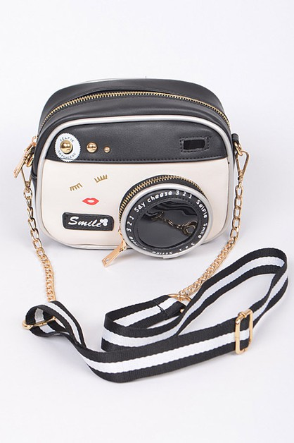 Camera Iconic Crossbody Swing Bag - orangeshine.com