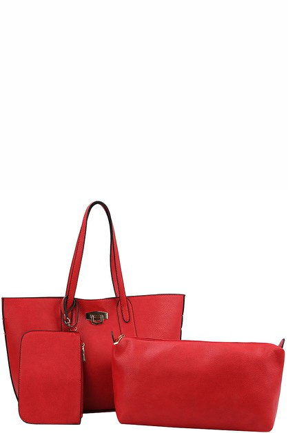 Fashion Trendy Modern Shopper Bag - orangeshine.com