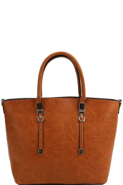 2IN1 MODERN CHIC SATCHEL WITH LONG S - orangeshine.com