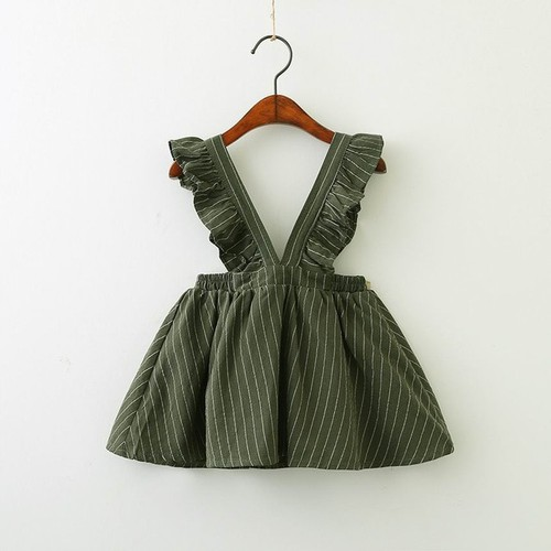 Cotton Suspender Dress - orangeshine.com