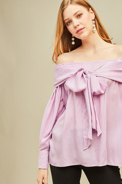 Off-shoulder top - orangeshine.com