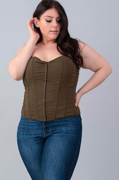 PLAIN PLUS CORSET - orangeshine.com