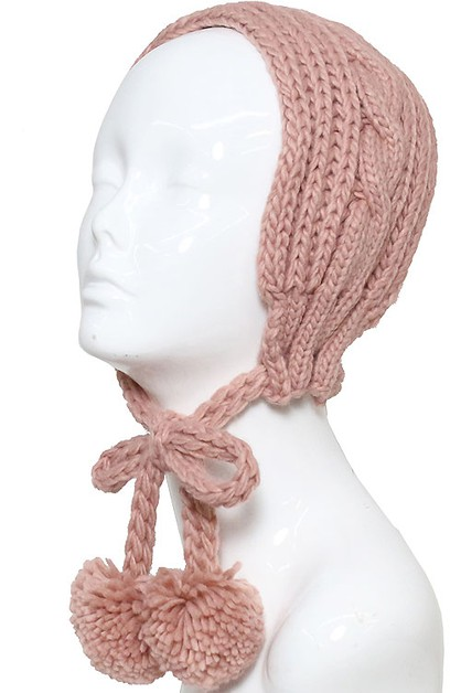 Cable Knitted Headband - orangeshine.com