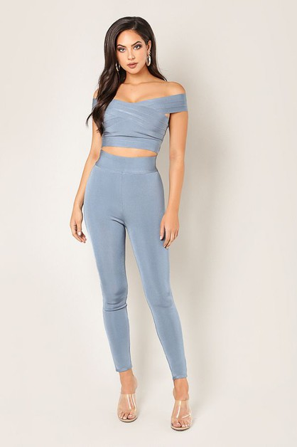High Waist Bandage Pants - orangeshine.com