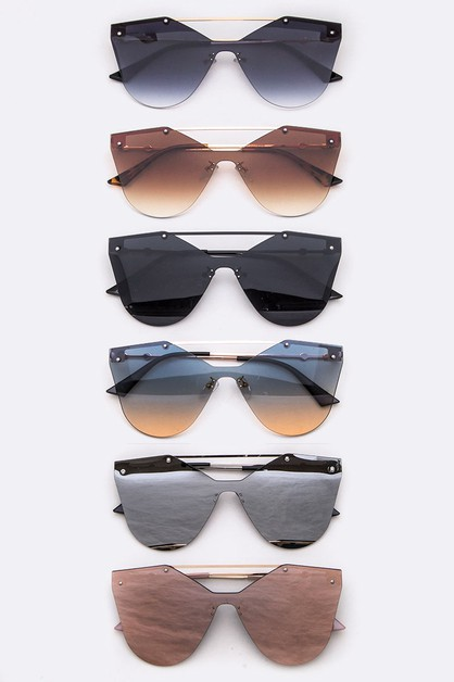 Iconic Mix Tint Sunglasses Set - orangeshine.com