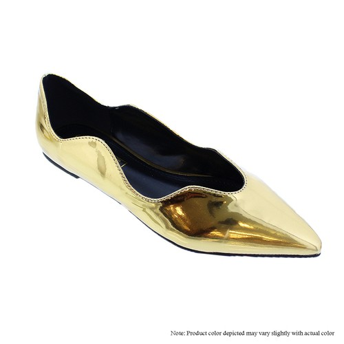 Comfy Causal Pointed Toe Flat - orangeshine.com
