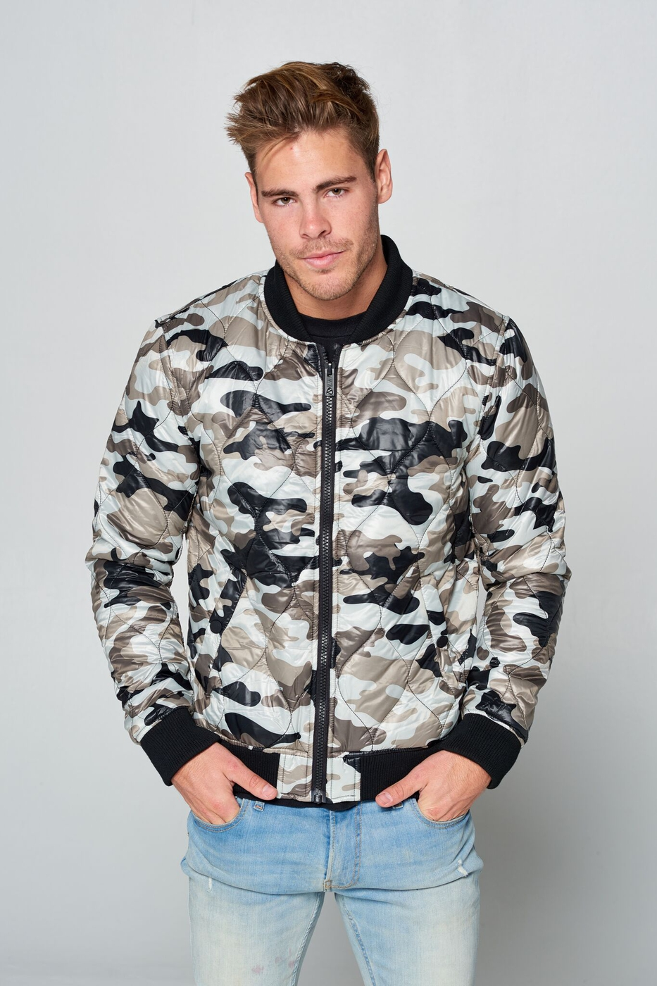 Mens Camo  Jacket - orangeshine.com