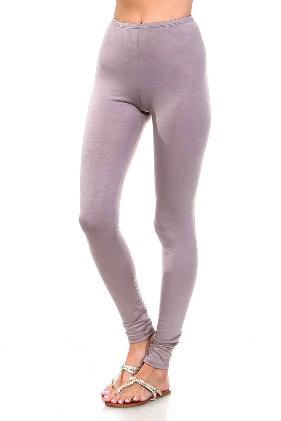Plus Size High Waisted Leggings - orangeshine.com