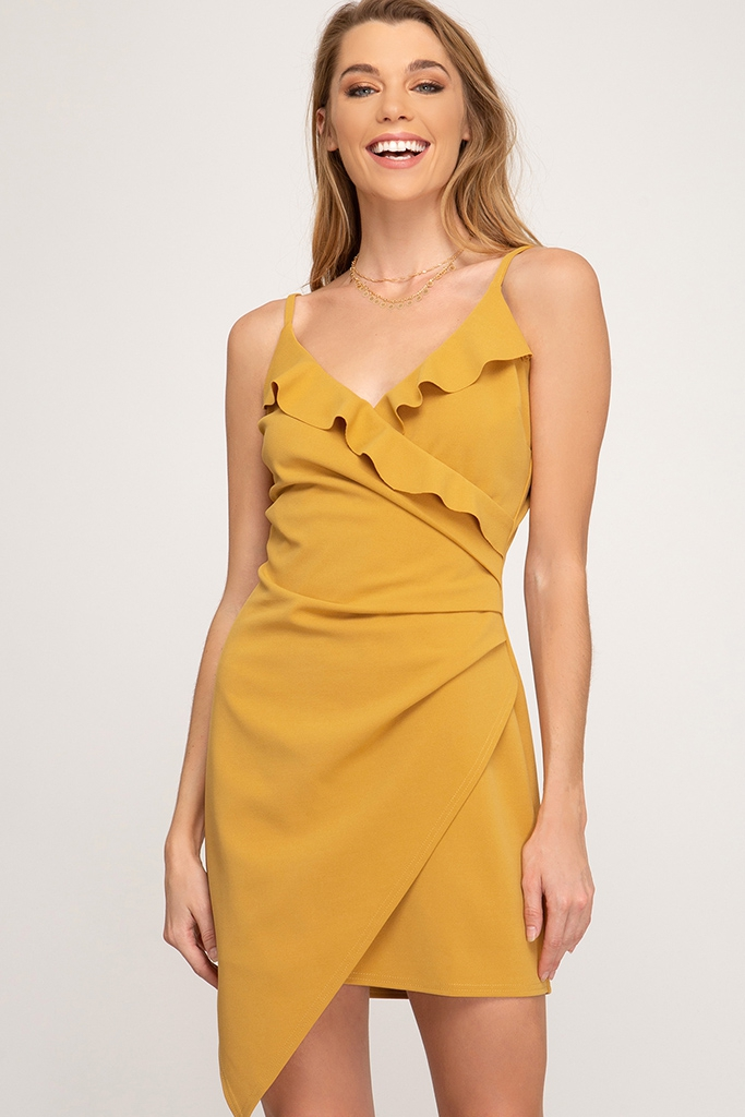 CAMI KNIT DRESS - orangeshine.com