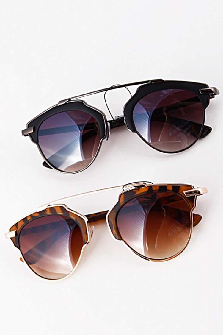 Iconic Unibrow Sunglasses - orangeshine.com