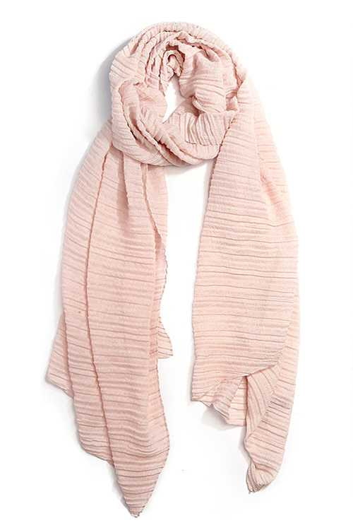 Crinkle Fashion Scarf - orangeshine.com