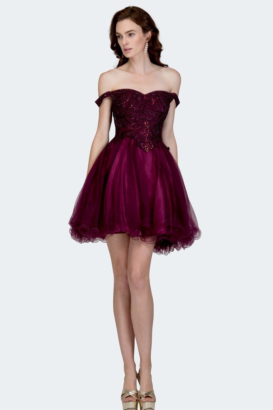Homecoming Prom Dress Cocktail Party - orangeshine.com