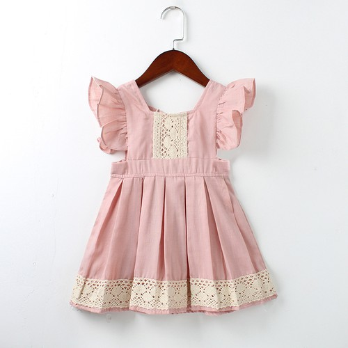Girls Lace Vintage look dress - orangeshine.com