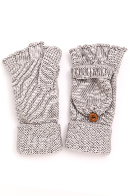 Winter Knitted Fingerless Gloves - orangeshine.com