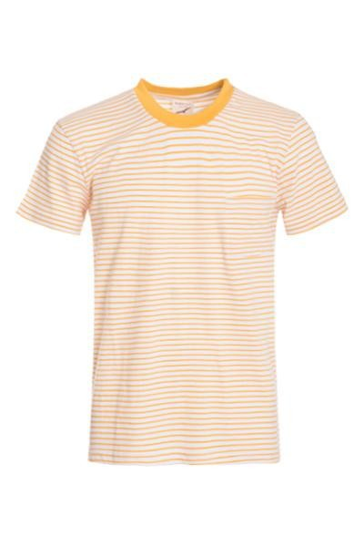 Stripe Cotton T-shirts - orangeshine.com