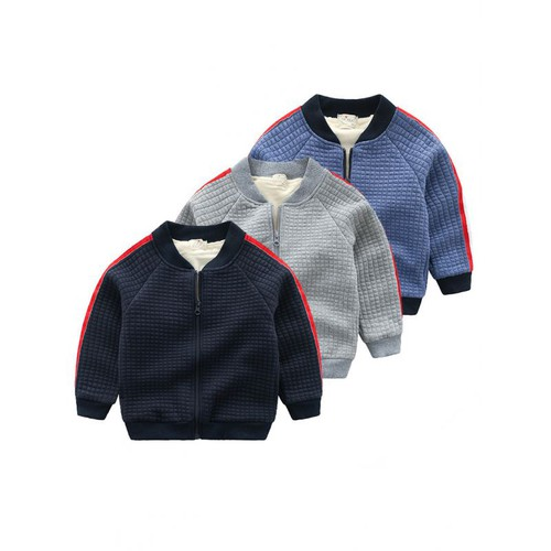 Boys Fleece lined jacket - orangeshine.com
