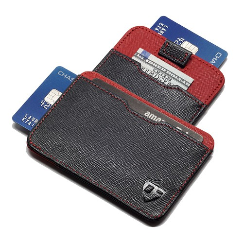 Pull Tab Card Wallet - orangeshine.com