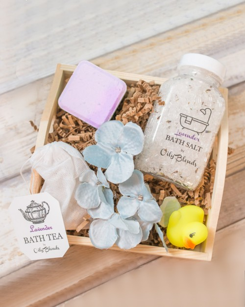 Handmade Bath Gift Sets - orangeshine.com