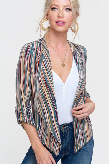 waterfall front jacket - orangeshine.com