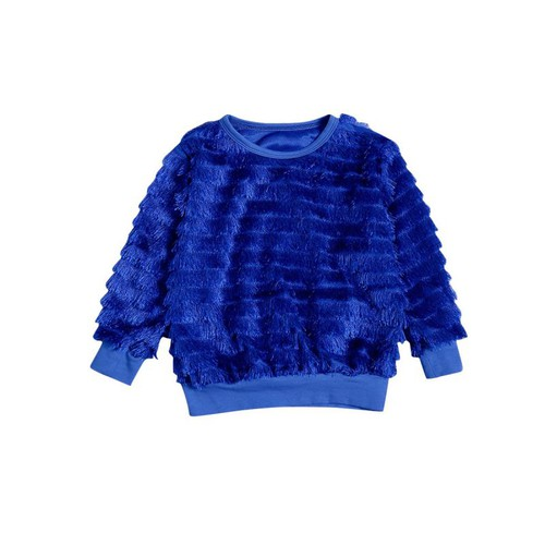 Kids Tassel Trim  Jumper - orangeshine.com