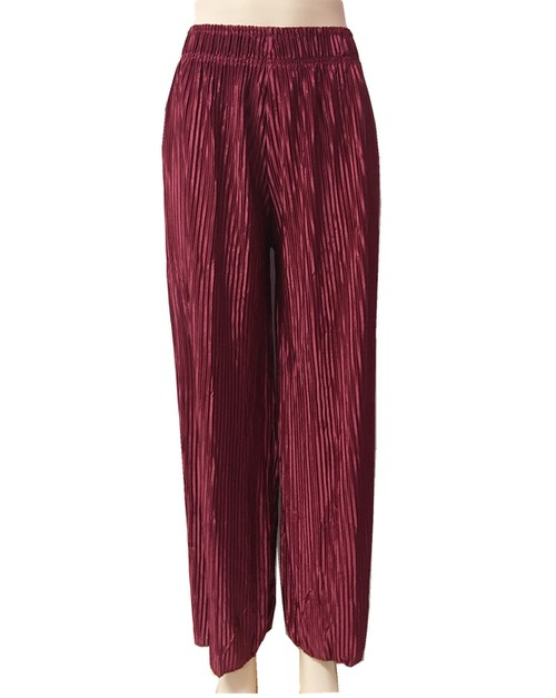 Solid color palazzo pants - orangeshine.com