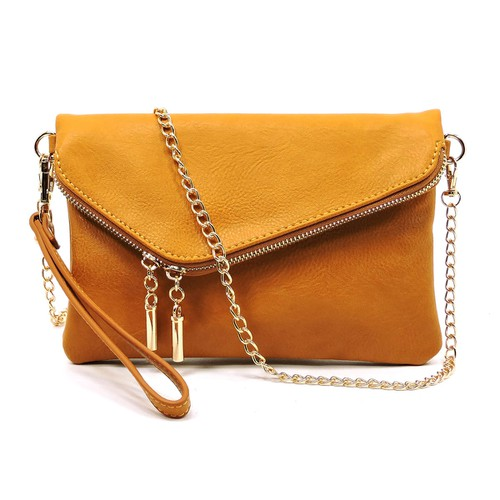 Fashion Envelope Foldover Clutch - orangeshine.com