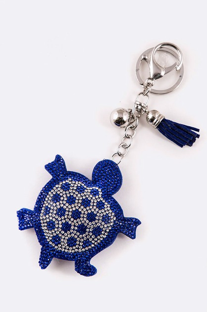 Crystal Sea Turtle Key Chain - orangeshine.com