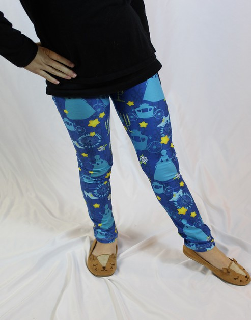 Princess Fairytale Girls LX Leggings - orangeshine.com