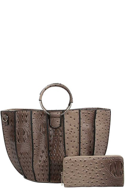 STYLISH CROCO SATCHEL - orangeshine.com