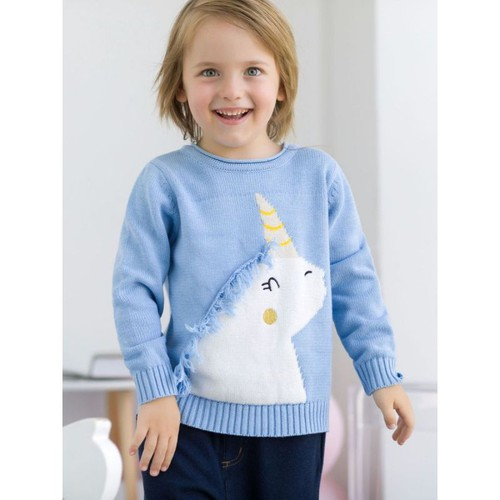 Unicorn Tassel Knit Jumper - orangeshine.com