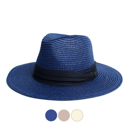 Spring-Summer Womens Wide Brim Hat - orangeshine.com