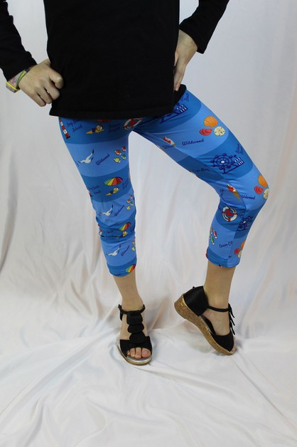 Jersey Shore Beach Capris - Toddler - orangeshine.com
