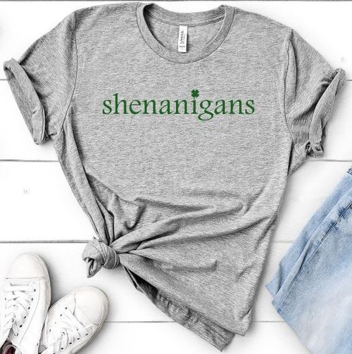 Shenanigans - St Patricks Day - orangeshine.com