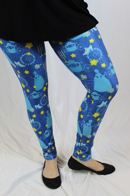 Princess Fairytale Leggings - orangeshine.com