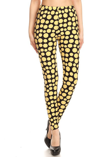 Plus Size Buttery Soft Leggings - orangeshine.com