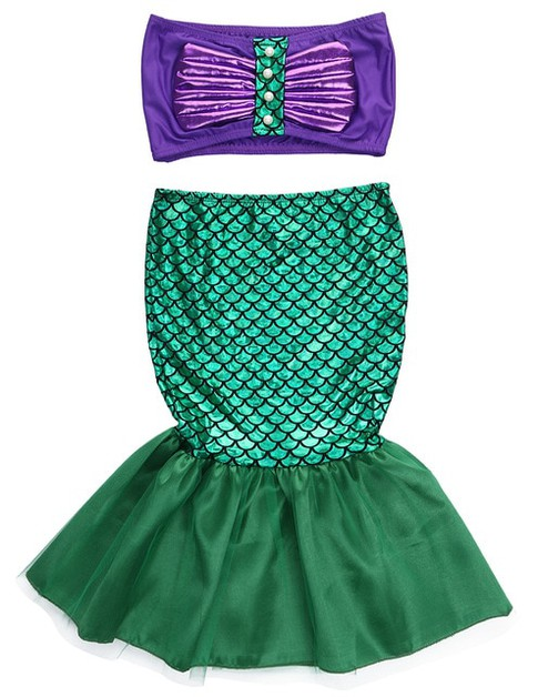 2PC Mermaid Swimsuit set - orangeshine.com