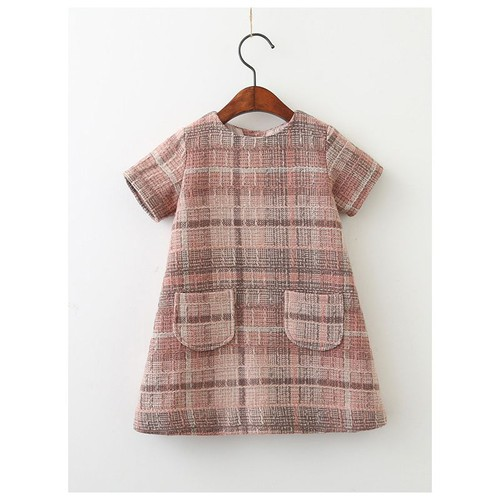 Tweed dress with Pockets - orangeshine.com