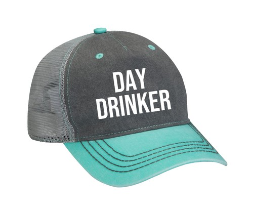 Day Drinker Embroidered Hat - orangeshine.com