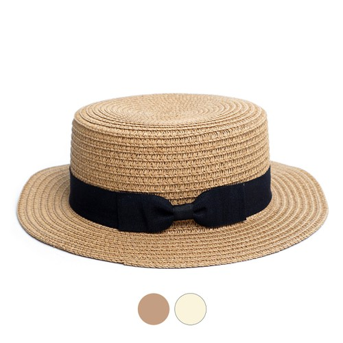 Spring-Summer Round Flat Top Hat - orangeshine.com