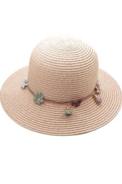 Ribbon Fashion Straw Hat - orangeshine.com