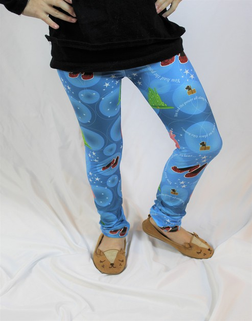 Wizard of Oz Girls LXL Leggings - orangeshine.com